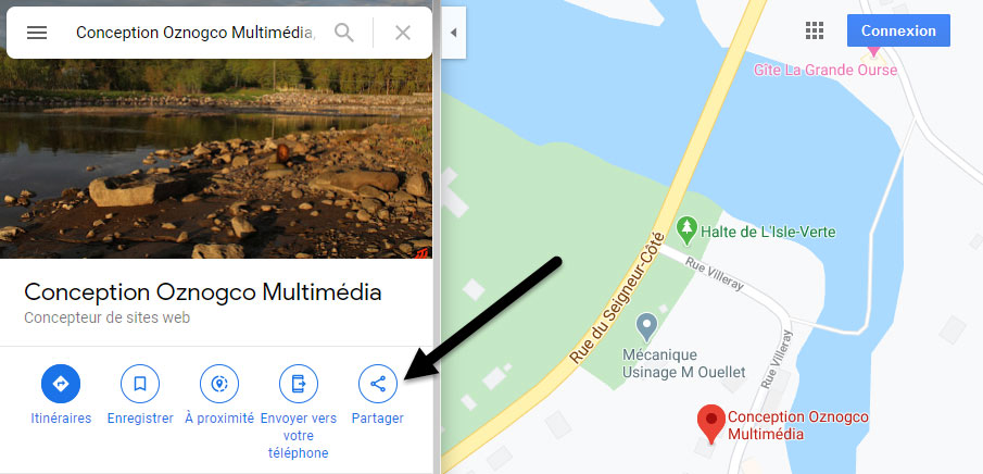 Google Map (frame) 1
