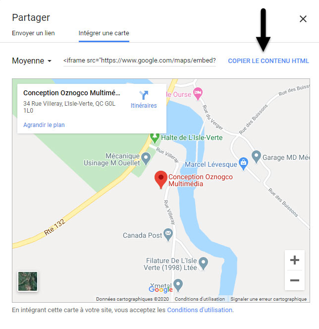 Google Map (frame) 3